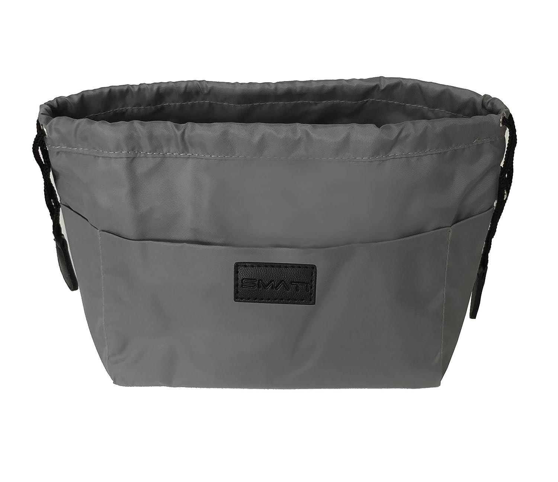 SMATI Bag in Bag imperm/éable Organisateur de Sac 12 Pochettes de Rangement Chat
