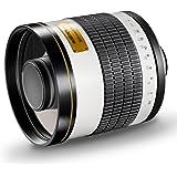 Walimex Pro 800mm 1:8,0 DSLR-Spiegelobjektiv für Sigma Objektivbajonett weiß (manueller Fokus, für Vollformat Sensor gerechnet, Filterdurchmesser 30,5mm)