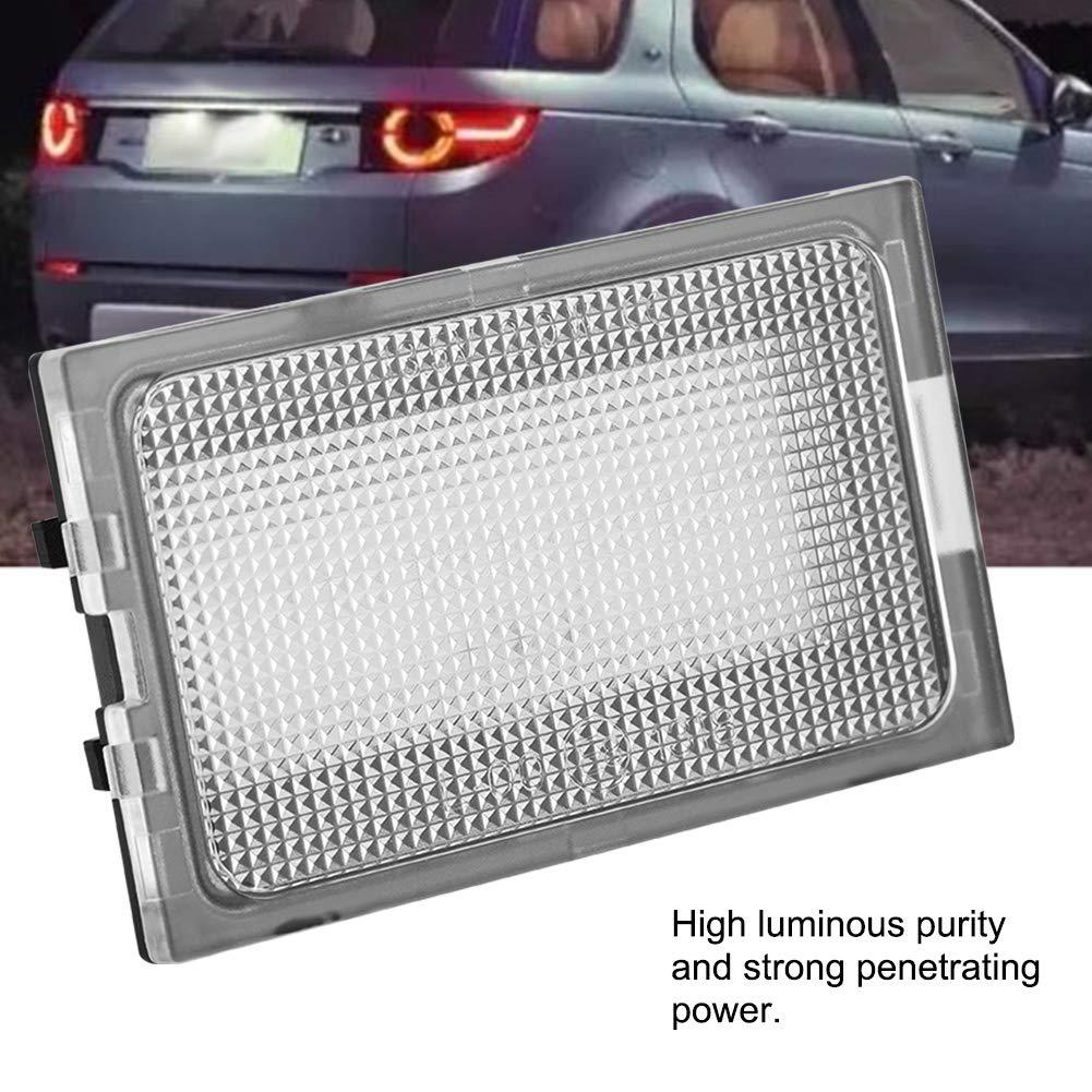 KIMISS 2 x Car Number Plate Light for LR3 LR4