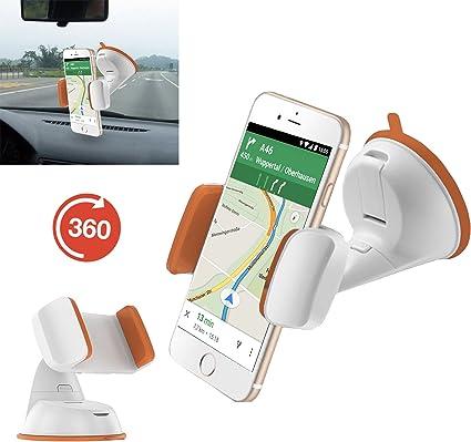 Teléfono móvil/smartphone soporte | para BQ Aquaris U Lite, soporte para coche, soporte para oficina | multifunción | aut de naranja: Amazon.es: Informática