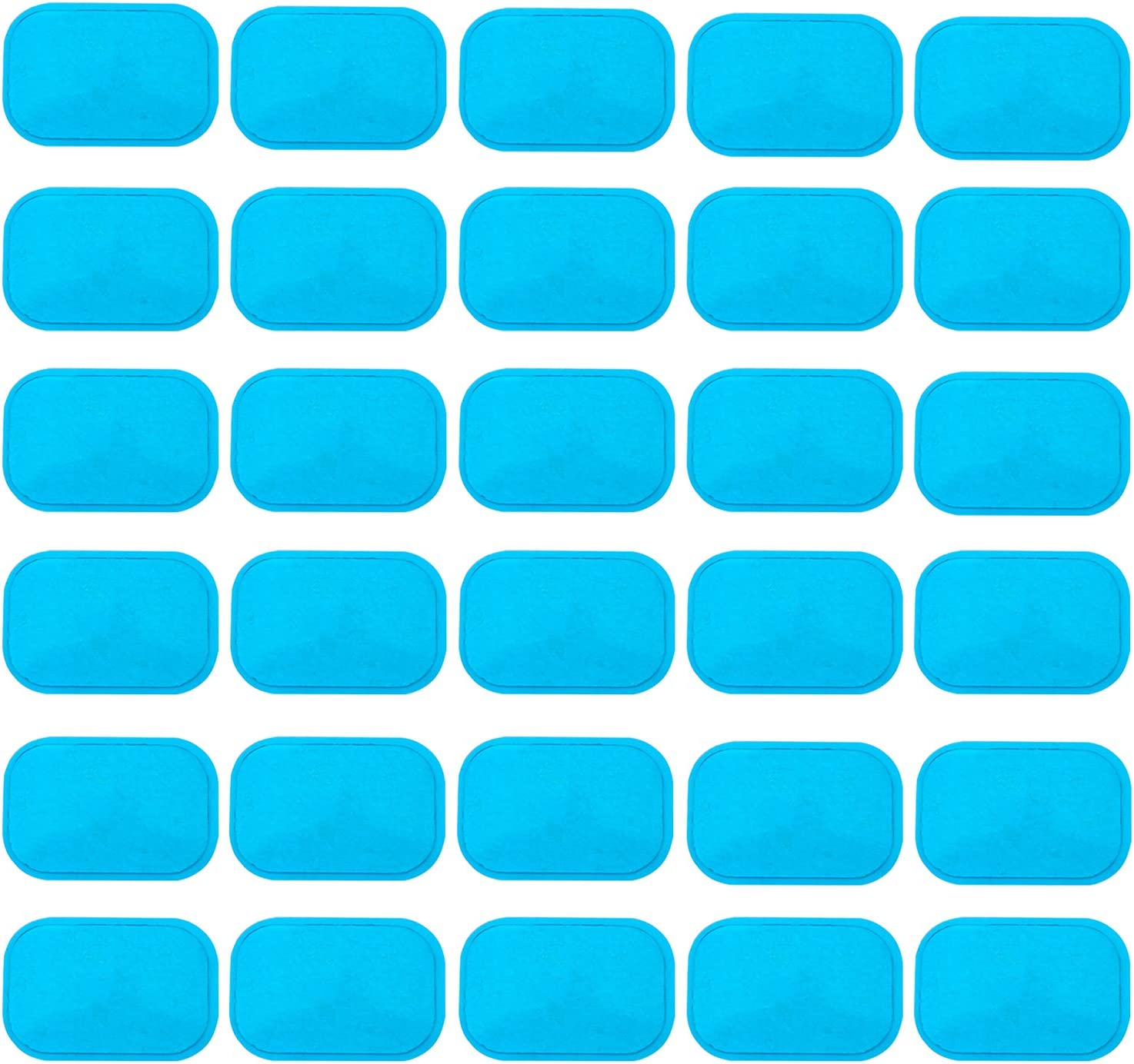 48x Trainer Gel Pads Abdominal Stickers Fitness Hydrogel for Muscle Stimulator 1
