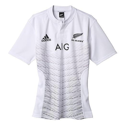 detailed look 2f0f2 31d8e adidas All Blacks 2013 2014 Replica Alternative Short Sleeve Jersey, S