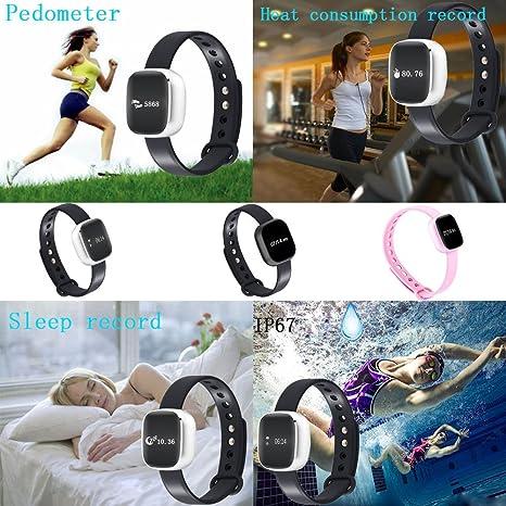xingddoz Fitness reloj pulsera podómetro monitor de sueño ...
