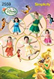 Simplicity Sewing Pattern 2559 Toddler Costumes, A (1/2-1-2-3-4)