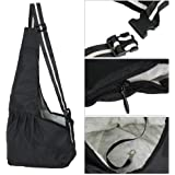 Ogori Hands-free Small Dog Cat Sling Carrier Bag Travel Tote Soft Comfortable Puppy Kitty Rabbit Pouch Shoulder Carry Tote Handbag