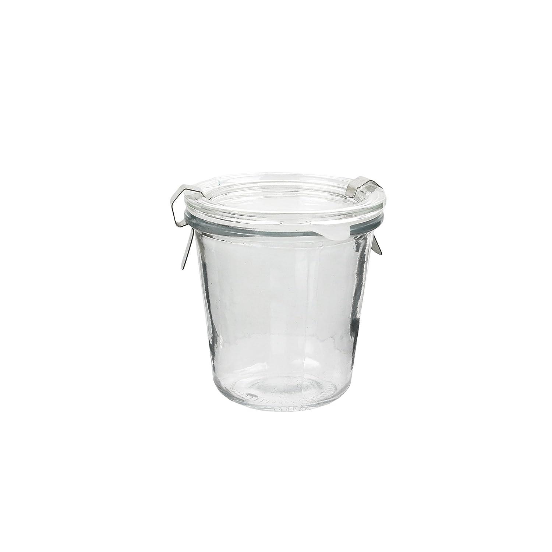 Totally Addict tarro hermético de clip, cristal, 10 x 9 x 9,50 cm, 250 ml CMP Paris KA1936