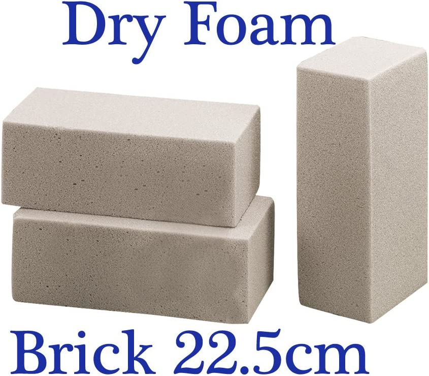 Dry SEC Floral Foam Block Dried /& Silk Flowers Smithers Oasis Floristry