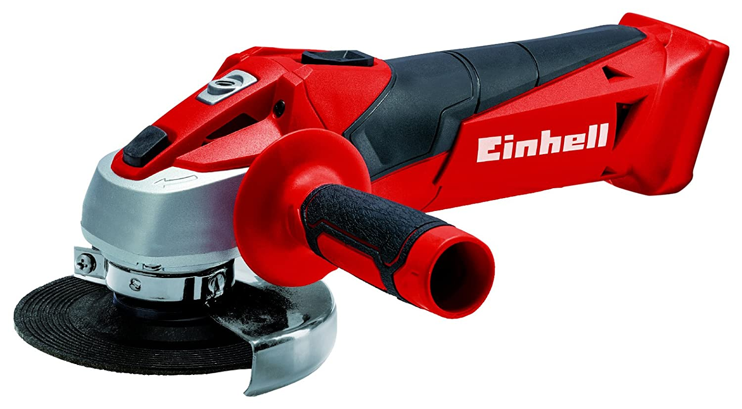 Einhell Battery Angle Grinder TC-AG 18/115 Li-Solo Power X-Change (18 V, Disc 115 mm, Without Cutting Disc, Without Battery and Charger) 4431130
