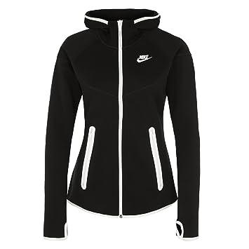 Nike Hoody Tech Fleece Full Zip - Sudadera con Capucha para Mujer, Color Negro, Talla s: Amazon.es: Deportes y aire libre