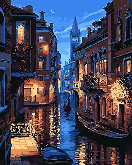 Amazon diy oil painting paint by number kit paint by numbers diy oil painting paint by number kit paint by numbers drawing with brushes paint solutioingenieria Choice Image