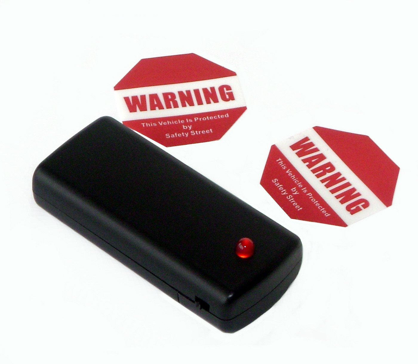 The Club SA110 Vehicle Anti-Theft Alert Signal and Decal Combo Set