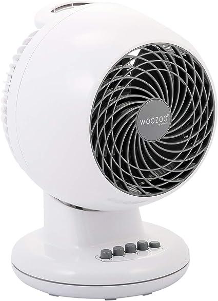 Iris Ohyama, ventilador silencioso, oscilante y potente - Woozoo ...