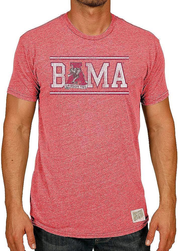 Elite Fan Shop NCAA Mens Tri Blend T Shirt Team Color Retro