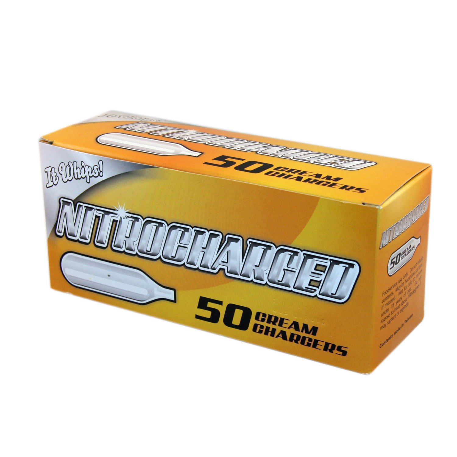 BestWhip Nitrocharged Nitro50 Whipped Cream Chargers, 800 Count
