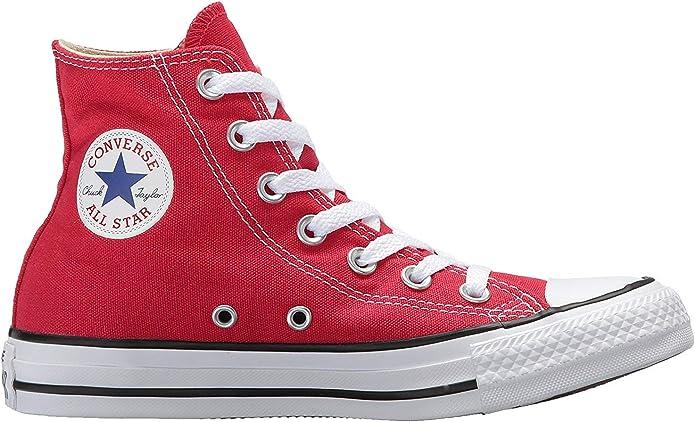 6 MENS WOMENS US, Red Mens C Taylor A//S HI Sneakers // 8