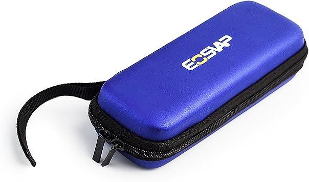 EOSVAP E-Cigarette Carry Estuche de viaje para cigarrillo electrónico Vape Pen EGO-T CE4 Eovd Box Mod, Estuche con cremallera Sin nicotina Sin líquido (azul): Amazon.es: Salud y cuidado personal