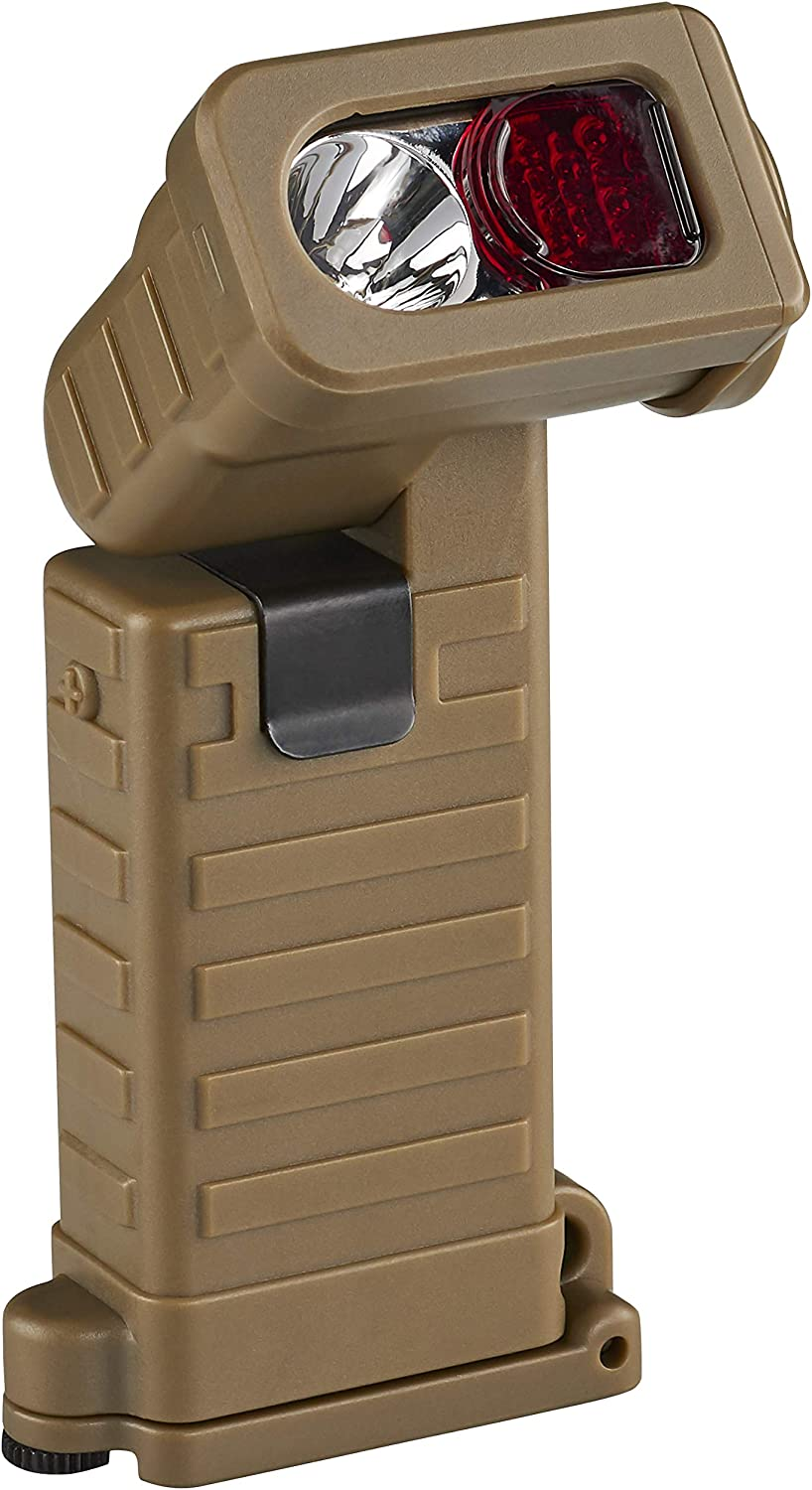 This is an image of a Streamlight Sidewinder Boot Light Tactical Flashlight in brown color.