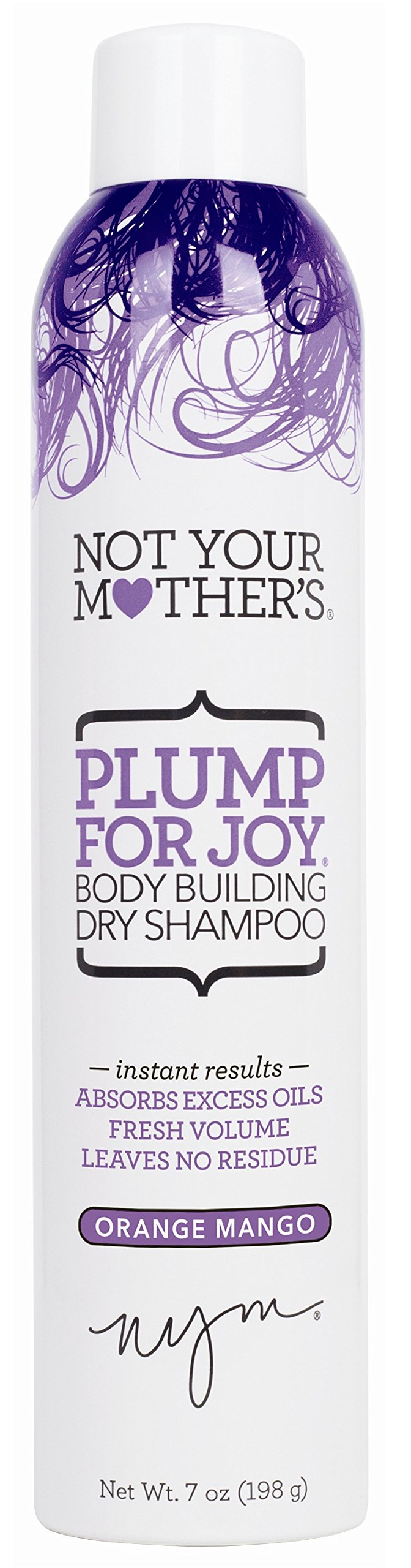 Not Your Mothers Shampoo Dry Plump For Joy 7 Ounce Body (207ml) (6 Pack) by Not Your Mother's