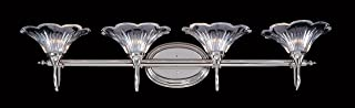product image for Framburg 8734 PS 4-Light Geneva Sconce, Polished Silver