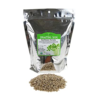 hulled semillas de girasol orgánico (no Shell): non-gmo, Raw ...