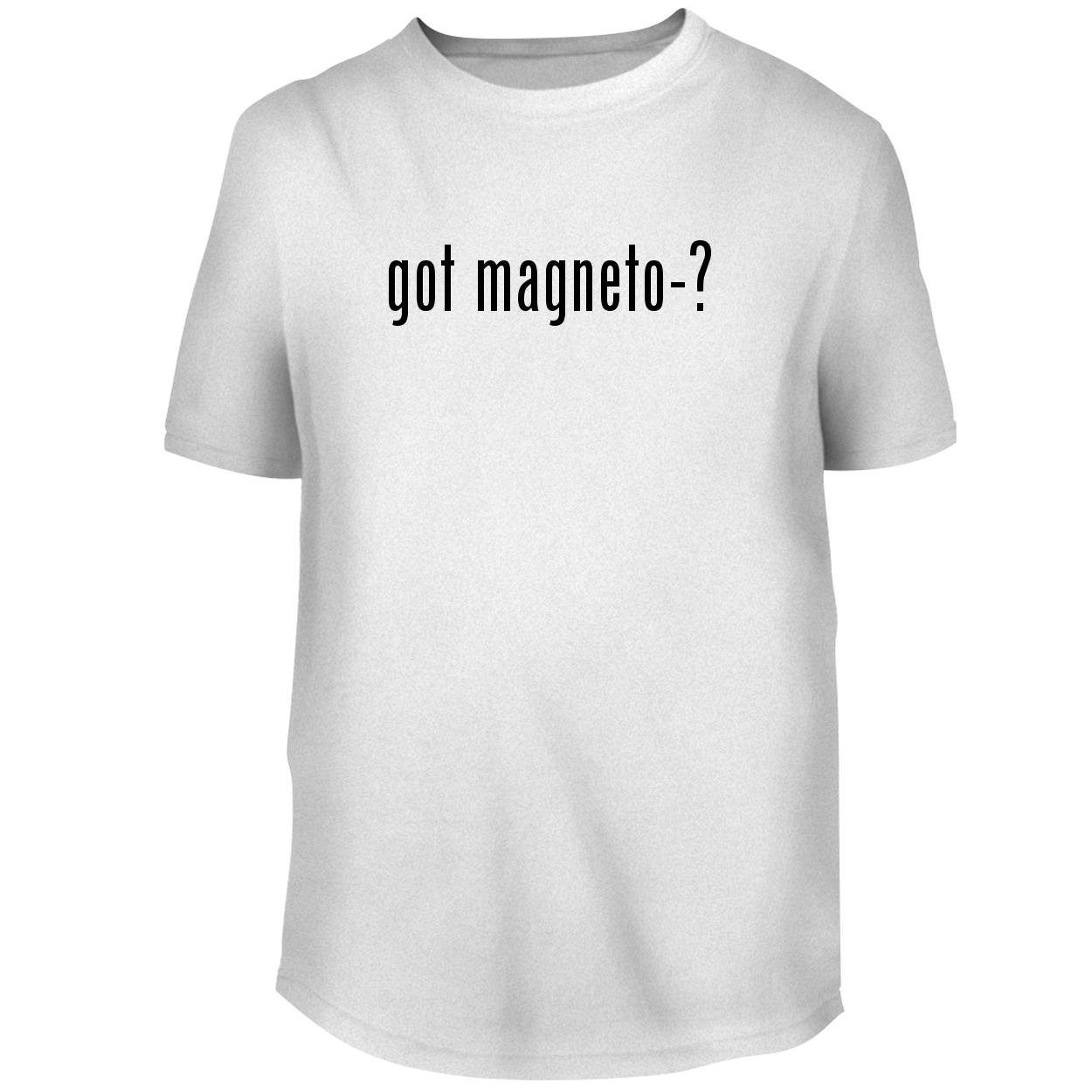 BH Cool Designs got Magneto-? - Men's Graphic Tee, White, X-Large