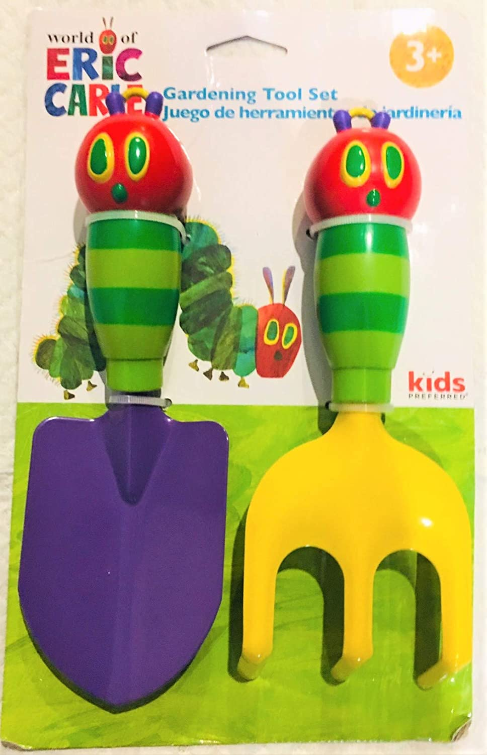2pcs The World of Eric Carle The Hungry Caterpillar Gardening Tools