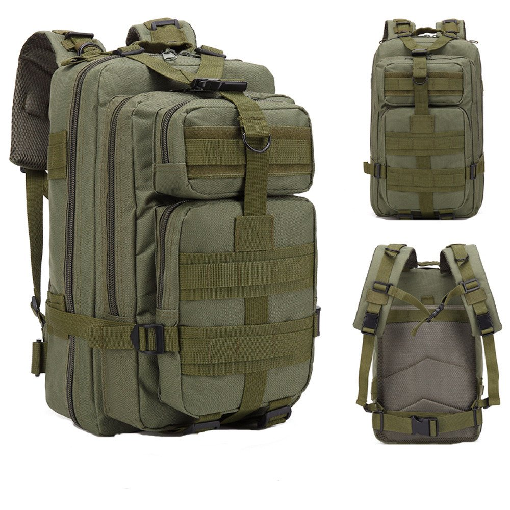 HOSOME Trekking Backpack 30L Outdoor Military Tactical Camping Hiking Travel Duffels