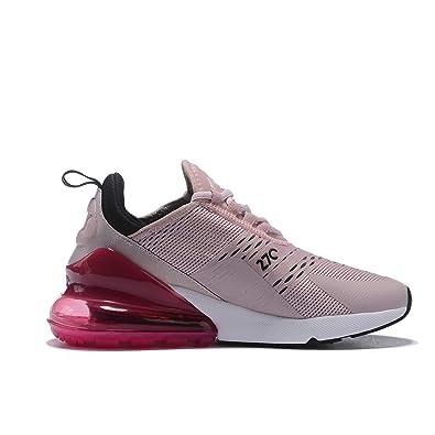 site réputé 9ad49 75814 Hojert Air Max 270 Chaussures de Running Compétition Femme Homme Sneakers  (38 EU, Rose/Rouge/Noir (3))