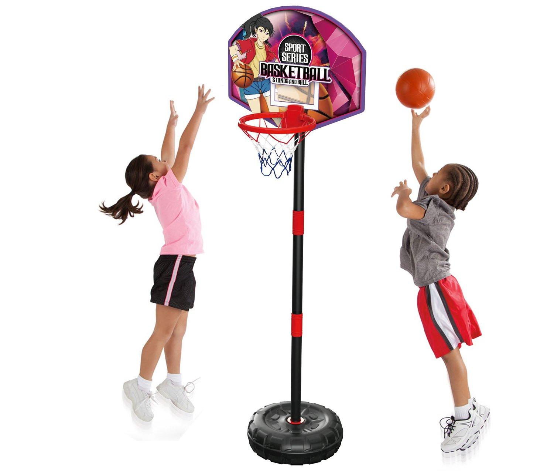 Children/'s Activity Play Game Swingball All Surface Junior Basketball Kids