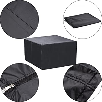 CRAVOG Durable resistente al agua funda para gran patio muebles de ...