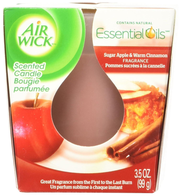 【Air Wick】エアウィックキャンドル(アップル&シナモンスパイス)85g B006XLKG5O