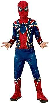 Rubies Iron Spider Infinity War - Disfraz para niño, M (5-7 años ...