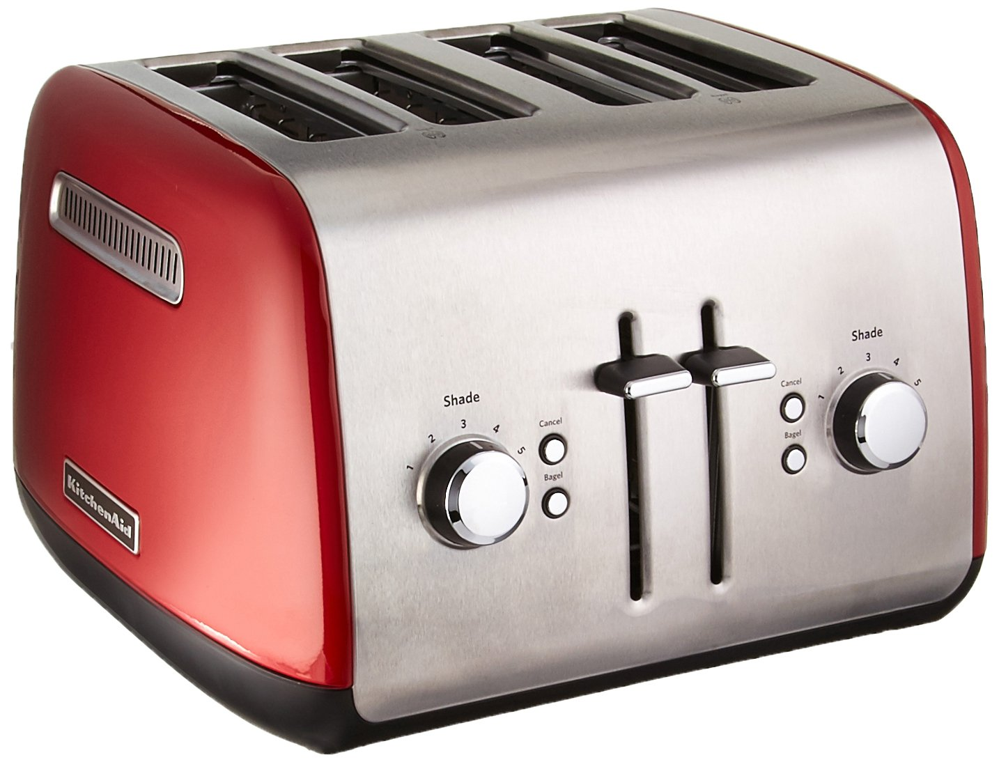 KitchenAid KMT4115ER Toaster with Manual High-Lift Lever, Empire Red