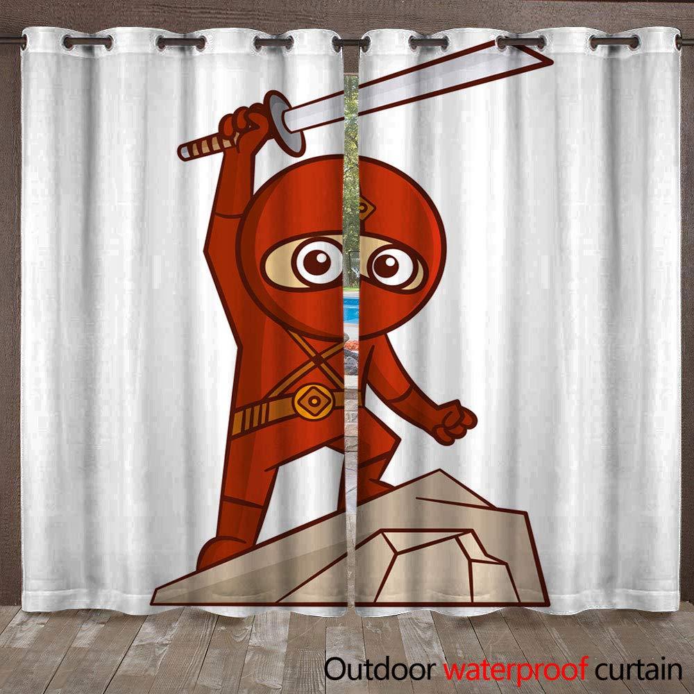 Amazon.com : WinfreyDecor Home Patio Outdoor Curtain ...