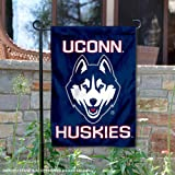 UCONN Double Sided Garden Flag and Yard Banner