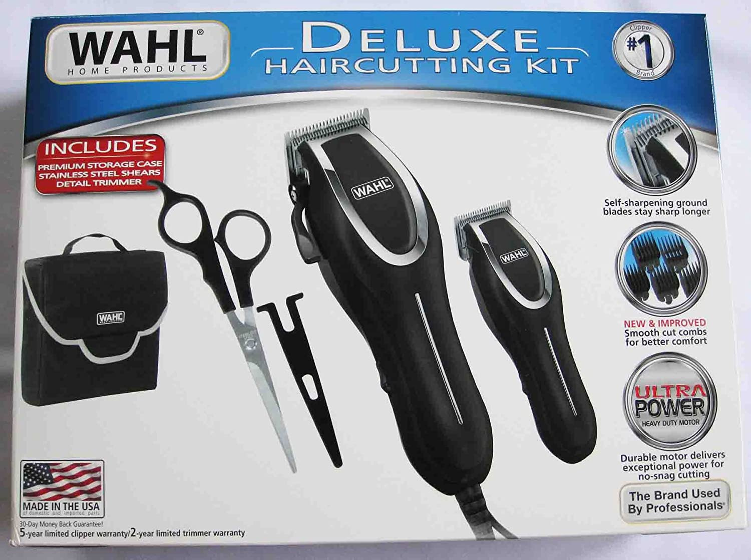 Wahl 10 Piece Deluxe Haircutting Kit: Amazon.in: Beauty