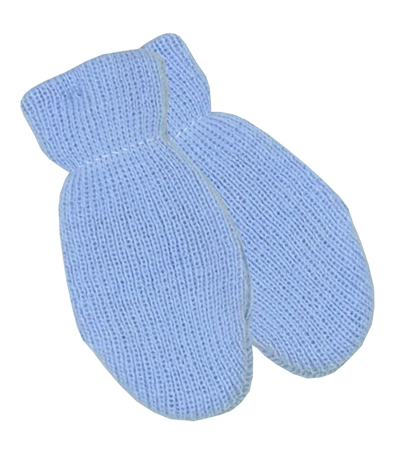 BabyPrem Baby Mittens Gloves Winter Clothes Knitted Pink Blue White Boy Girl