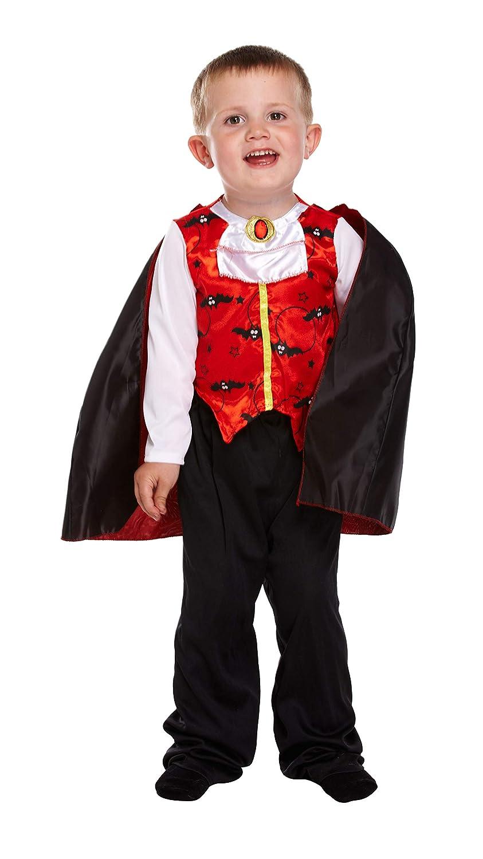 Henbrandt Disfraz Infantil Vampiro 3 años: Amazon.es: Juguetes y ...
