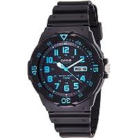 Casio Watch For Men Quartz, Analog Display and Resin Strap MRW-200H-2BVDF