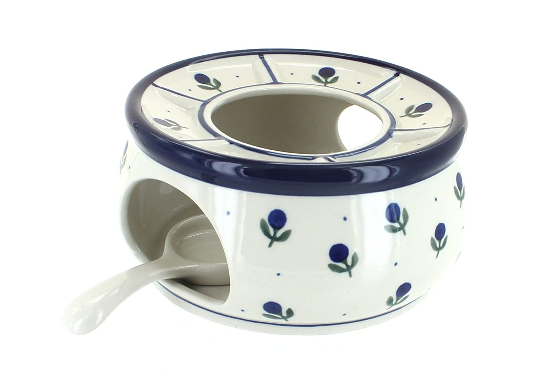 Blue Rose Polish Pottery Blueberry Teapot Warmer Ceramika Artystyczna