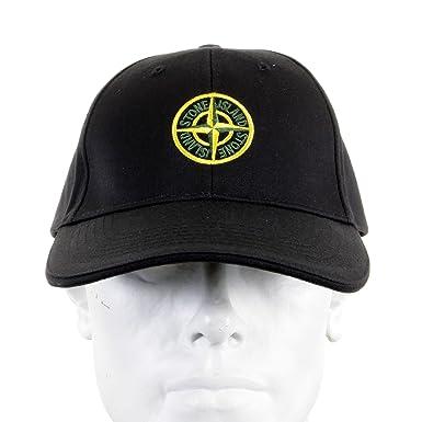 Cap Stone Island black cotton baseball cap SI2756  Amazon.co.uk ... 9601bcb48d05