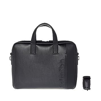 39afcafb5b Calvin Klein Elevated Sac messager pour ordinateur portable noir ...