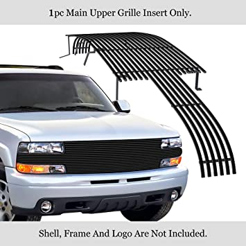 APS Compatible with 1999-2002 Ford Expedition Stainless Steel Billet Grille S18-C13756F