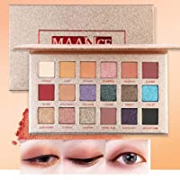 Alokie 18 colori Shimmer Matte Mineral Pigment Eyeshadow Palette professionale Bellezza nuda Make Up Cosmetic Eyeshadow Eye Palette Shimmer Set