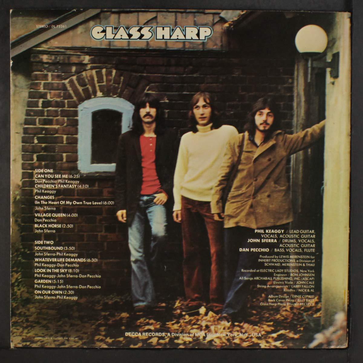 glass harp: GLASS HARP: Amazon.es: Música