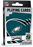"MasterPieces NFL Philadelphia Eagles Playing Cards,Blue,4"" X 0.75"" X 2.625"""