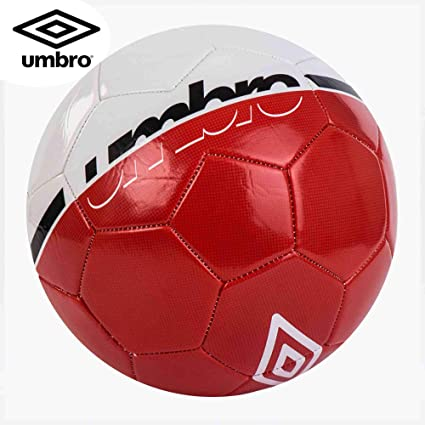 Umbro Veloce Supportter Balón Fútbol, Blanco/Rojo (Fiery Red ...