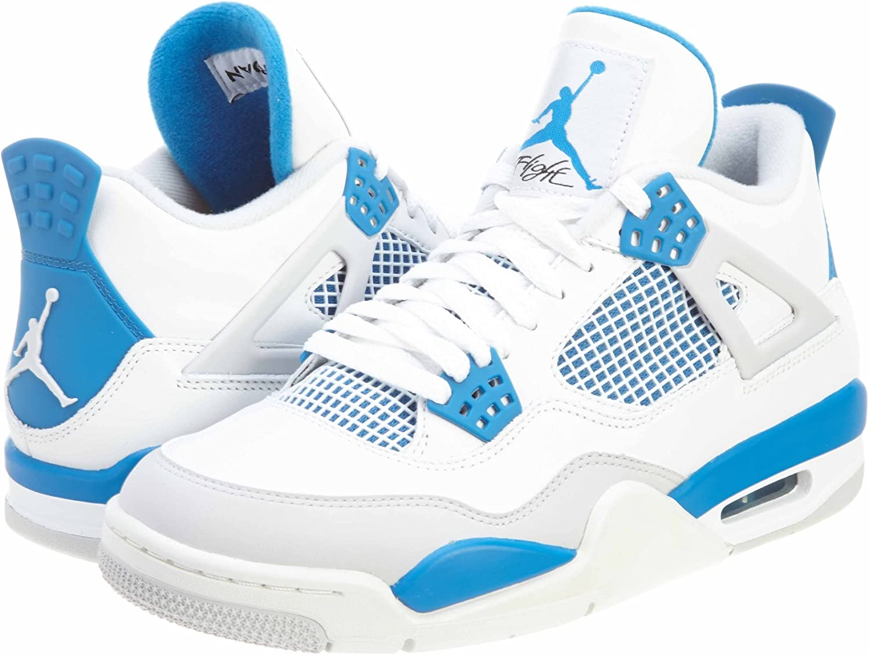 Jordan Nike AIR 4 Retro Military Blue