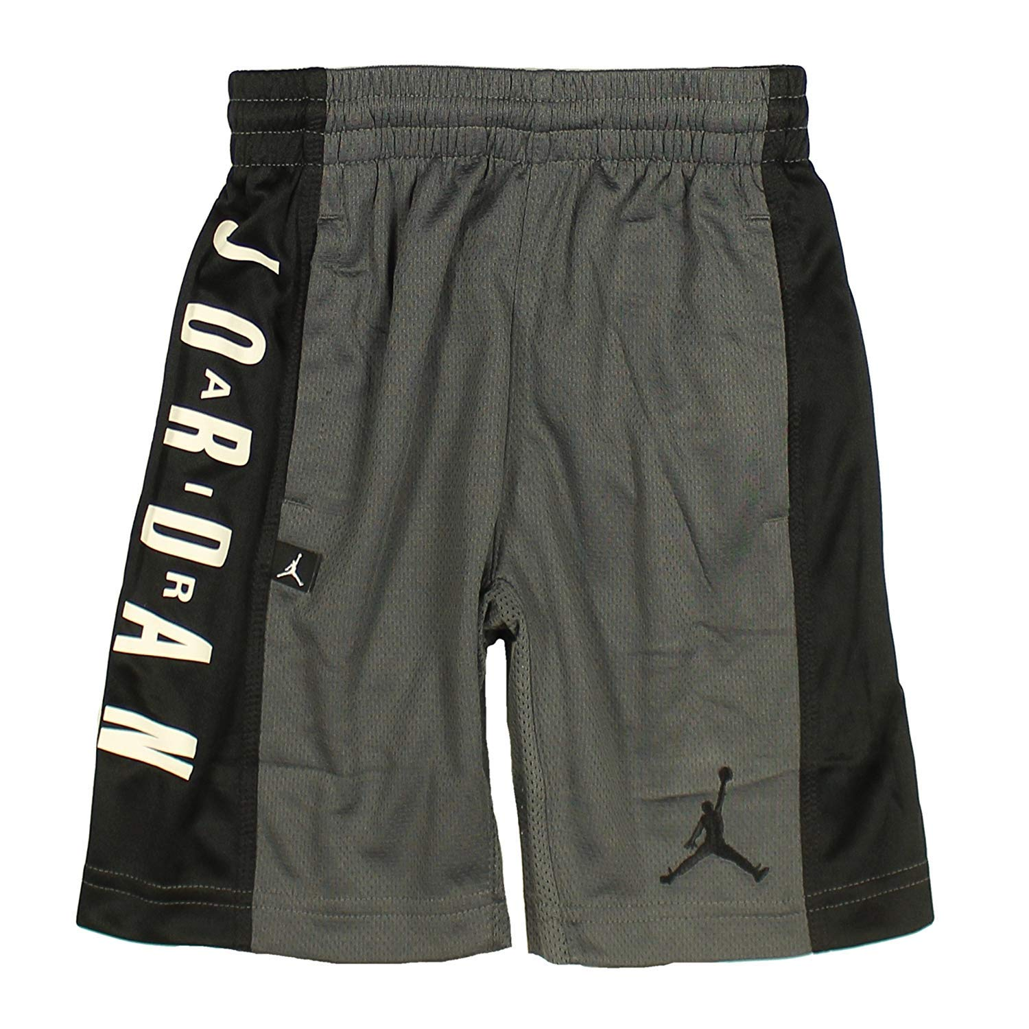 63680f52d80 Amazon.com: Jordan Nike Air Boy's' Highlight Dri-Fit Athletic Mesh  Basketball Shorts (6 (5-6 yrs), Dark Gray/Black): Clothing