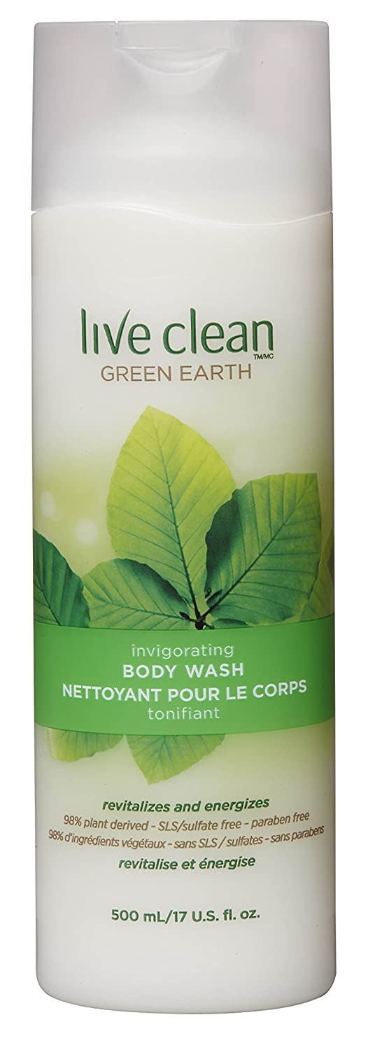Live Clean Green Earth Invigorating Body Wash